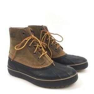 Sorel Metro Cheyanne duck boot lace up winter